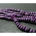 10 perles Sugilite rondelles 5*8mm