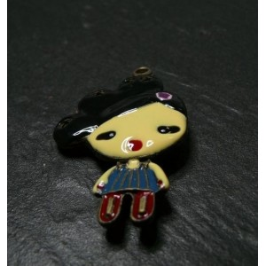 1 piece little doll Black