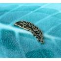 10 pieces bronze  plume