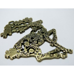 1pcs Motif Cerf Bronze
