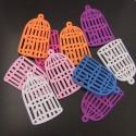 Lot de 1 piece cage violet