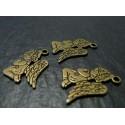 1 piece bronze Ange priant