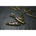 2 pieces bronze Oiseau