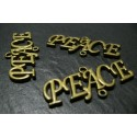 1 breloque bronze BiG PEACE