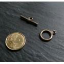 6 pieces ( 3 paires ) Bronze fermoir GM
