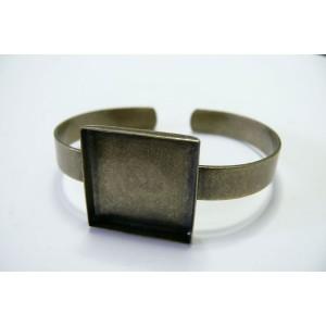 1 piece Support de Bracelet BR Carre épais