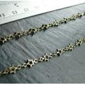 0 5 meter Bronze chaine Etoile Top qualité