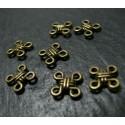 20 pieces bronze pendentif multi connecteurs A