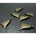 4 pieces bronze fantomes A