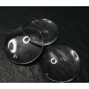 10 pieces cabochon en verre 30mm