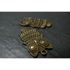 6 pièces pendentifs chouette GM