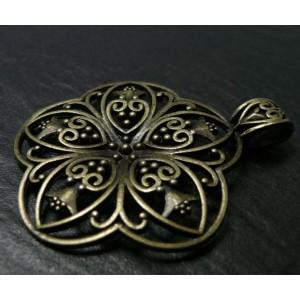 1 pièce magnifique pendentif fleur ref. MMCH223