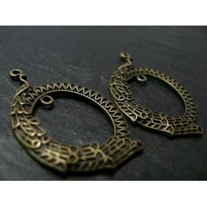 6 pièces magnifique pendentif Paon Moyen modèle ref. A16438