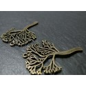 6 pieces bronze arbre ref ZX 15446
