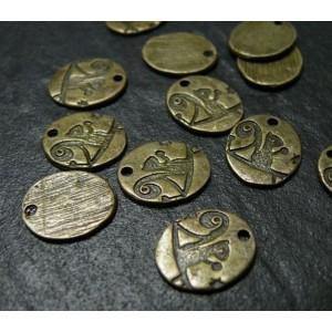 4 pieces bronze écureuil REF 77
