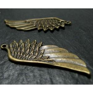 1 Très belle plume en bronze A