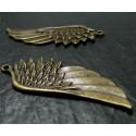 1 Très belle aile en bronze