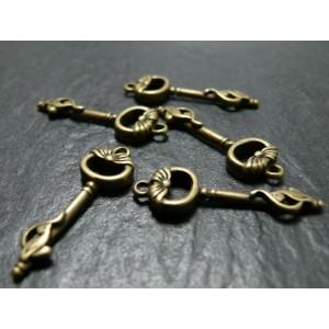 Lot de 10 pieces bronze clé ref 10908 A
