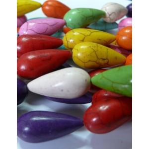 Lot de 2 cones violet 12*26mm