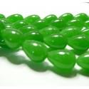 10 cones jade  vert clair10*14mm