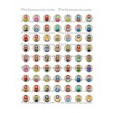 Collage Digital Poupée Russe ronde 18mm
