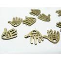 50 pièces ref 2B2568 pendentif hand made fait main Bronze