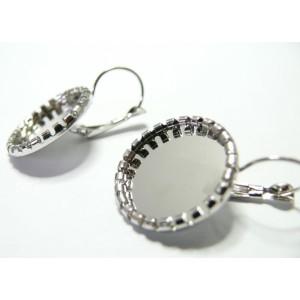 Apprêt bijoux 10 Supports de BO rouleau pp 10mm