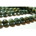 10 perles Turquoise Africaine ronde 6mm