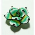 1 fleur cabochons fimo ref 1 25mm