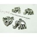 4 pieces pendentif petit elephant viel argent biface ref