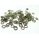 500 petits anneaux  BR  0,7mm par 4 mm  ref 2M3104