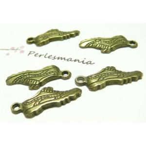 4 pieces pendentif basketBR ref 2D1301