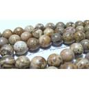 1 fil de 60 perles  jaspe paysage  6mm