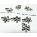 Apprêt 10 petites fleurs PP ref 2A1546 biface