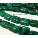 10 perles chewing gum turquoise verte bleue