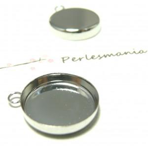 10 Supports 16mm PP bord épais attache ronde