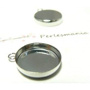 1 Support 16mm PP bord épais attache ronde