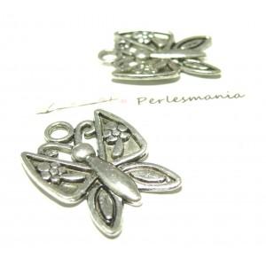 Apprêt bijoux 1 Pendentif grand papillon VA