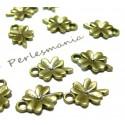 Apprêt bijoux 100 pendentifs  fleur BR ref 2A8209