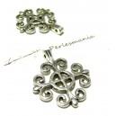 Apprêt bijoux 10 pendentifs croix  ref P15160 VA