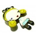 Apprêt bijoux 1 pendentif petite poupée Blonde