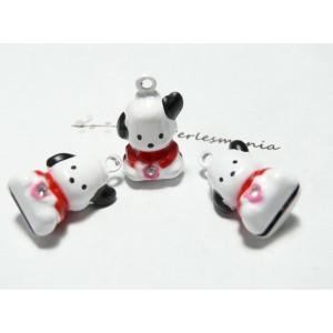 1 piece figurine Grelots  petit chien