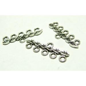 Apprêt bijoux 30 mulit connecteur feuille 2A7849 VA