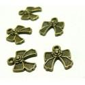 Apprêt bijoux 10 petits noeuds ref OB4952 Bronze