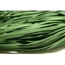 5 mètres de cordon plat en faux daim suédine Vert Olive  002Y-42