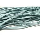 5 mètres de cordon plat en faux daim suédine gris bleu  002Y-8