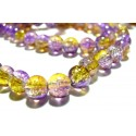 OFFRE Spéciale: eniron 200 perles 4mm de verre craquelé ref 2G5407