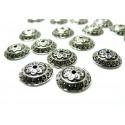 Apprêt bijoux 40 coupelles vieil argent ref 2B5256
