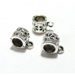 Apprêt bijoux 10 bélières 2A2360 VA vieil argent
