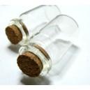 Apprêt 2 piece flacon fiole en verre 16 par 35  mm